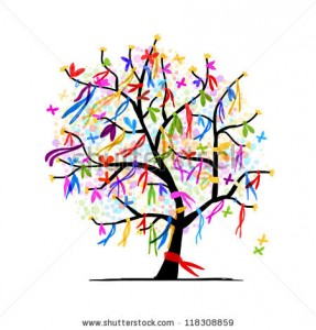 stock-vector-abstract-tree-with-ribbons-for-your-design-118308859